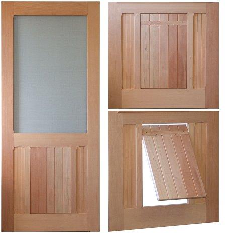 how to build a screen door cheap