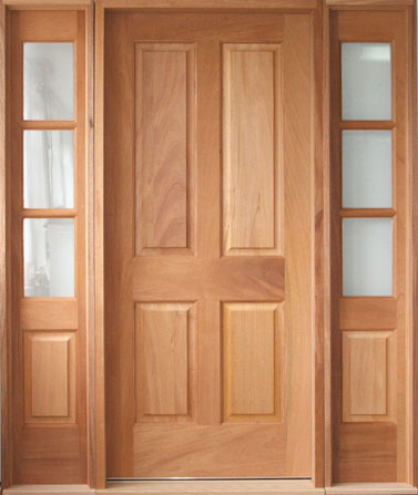 Solid wood interior doors solid wood exterior doors for Hardwood front doors