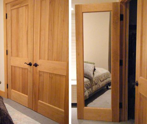 Mirror Doors Solid Wood Interior Doors With Mirrors Vintage